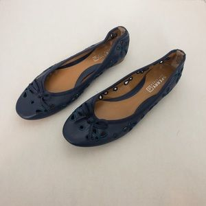 Sperry | Luna Navy Lace Flats
